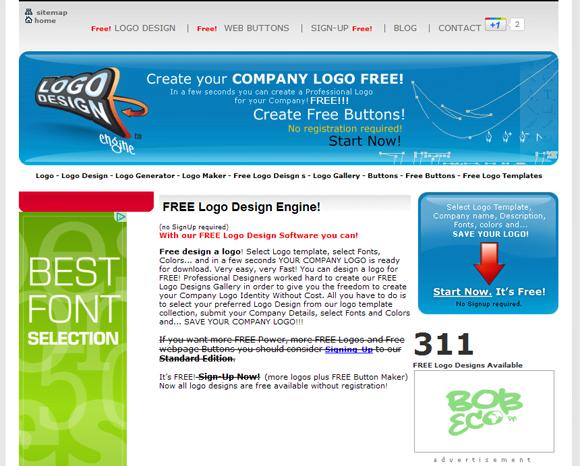 5 tools online per creare un logo blog xlogic hosting for Software di progettazione di layout di costruzione gratuito
