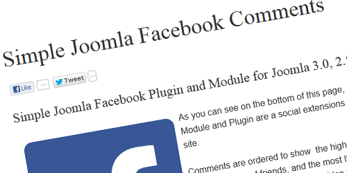 joomla-facebook-comments