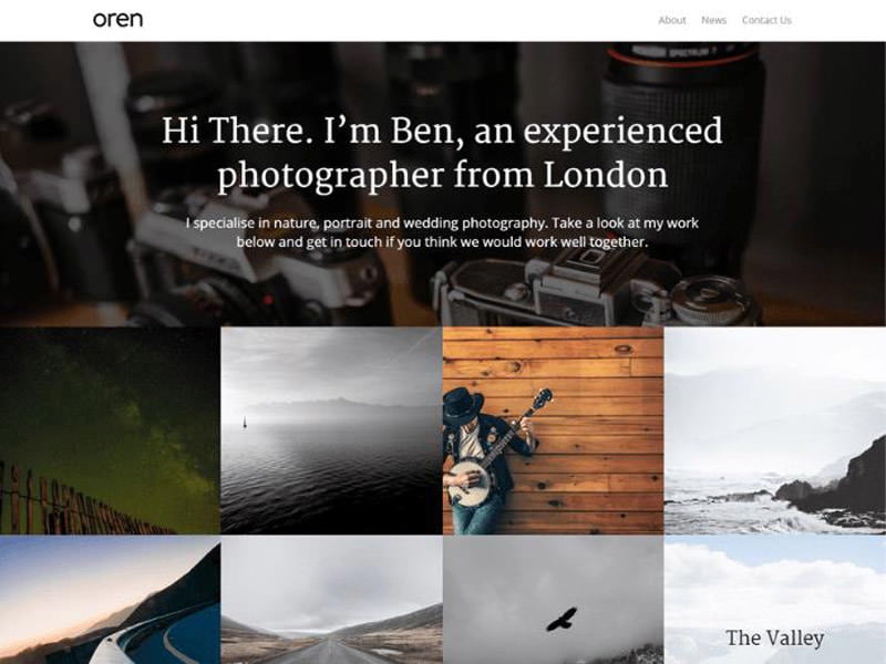 oren-free-wordpress-theme