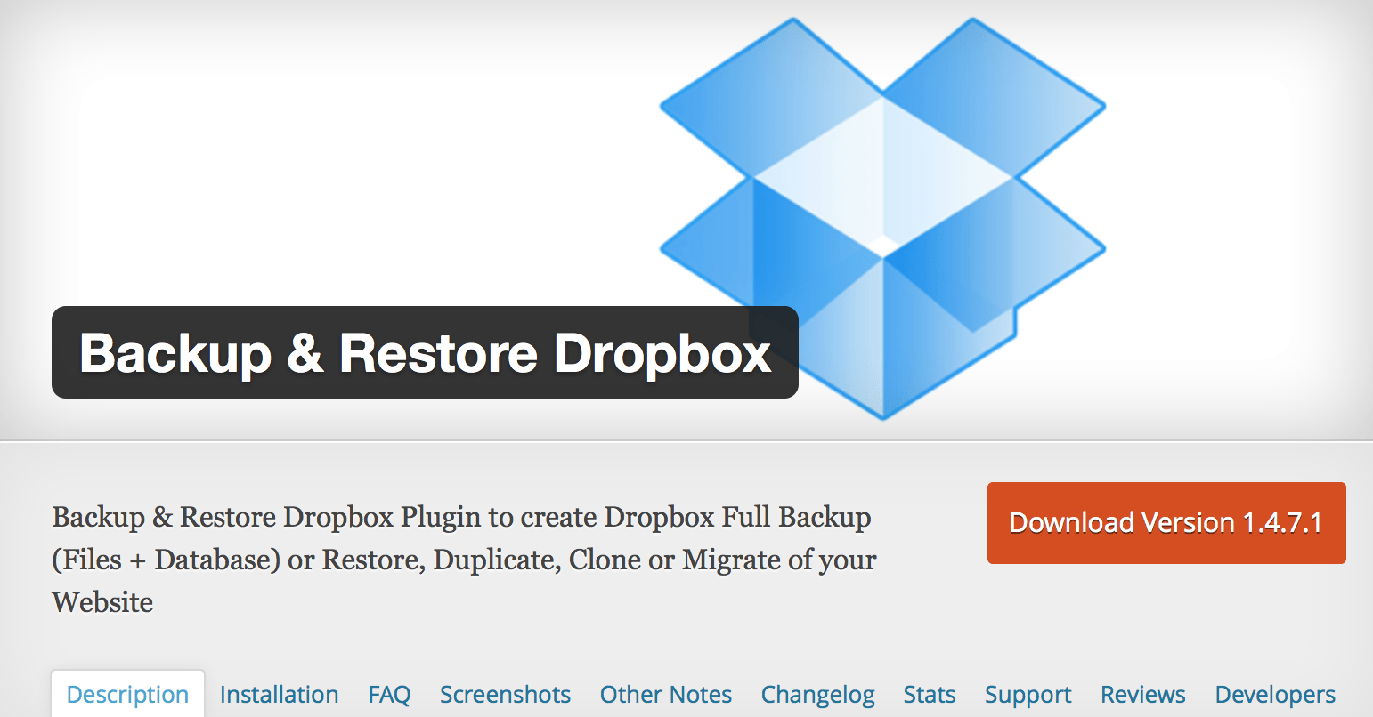 Backup___Restore_Dropbox_—_WordPress_Plugins