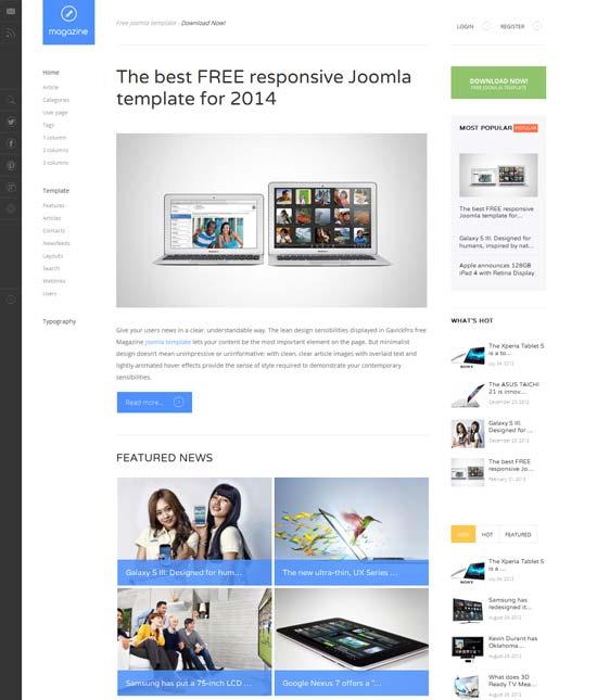 Magazine-FREE-responsive-Joomla-template