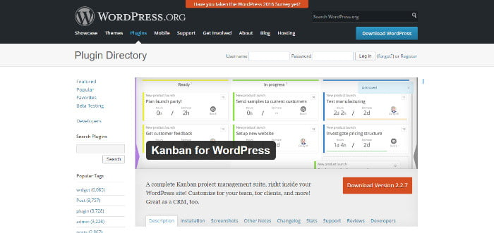 kamban for wordpress