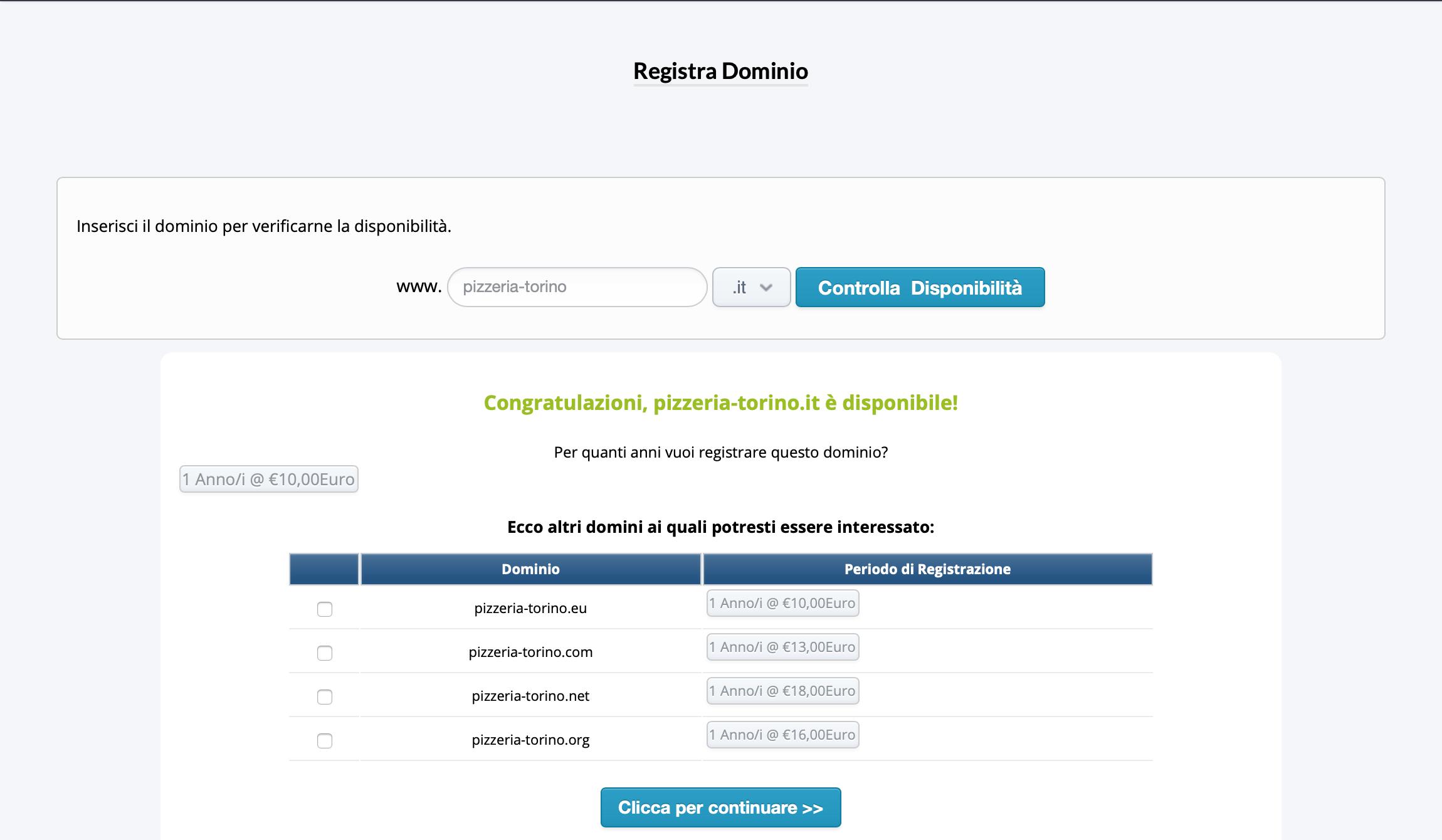 come scegliere dominio hosting
