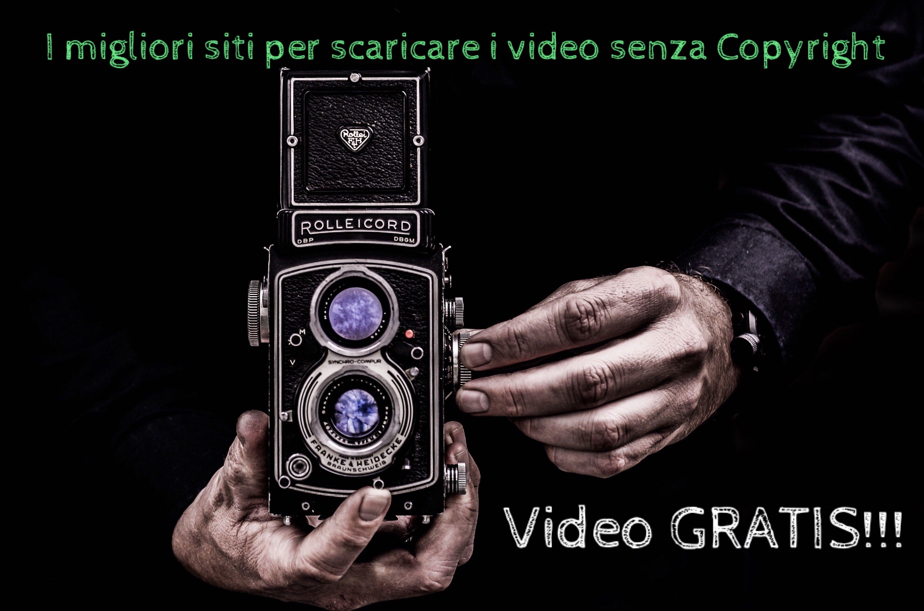 Video free: i migliori siti che ti permettono di scaricare gratuitamente i video senza copyright