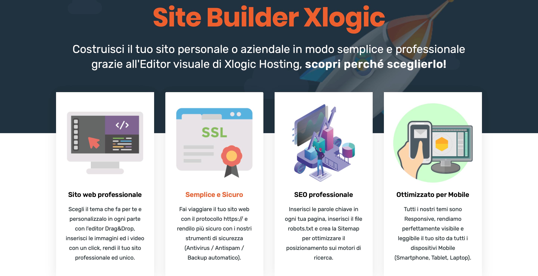 Site Builder Xlogic: scegli il miglior Web Builder per il tuo sito web