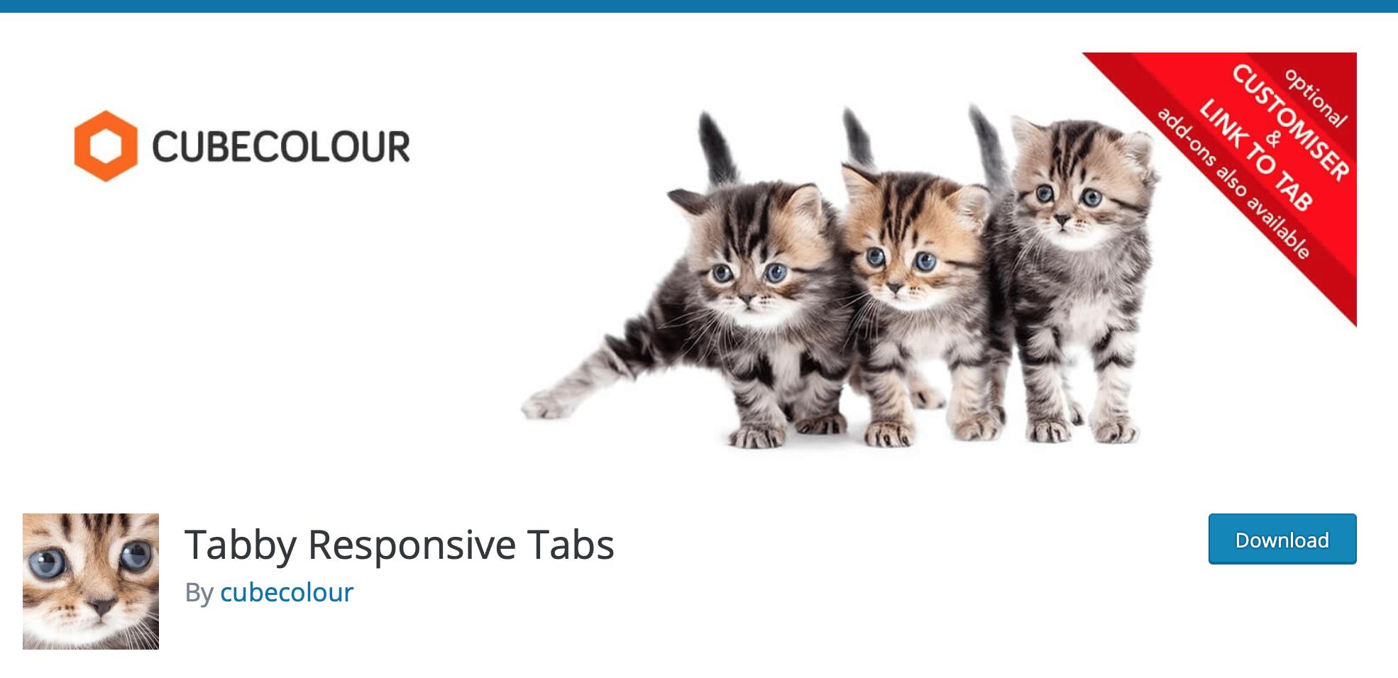 tabby responsive tabs