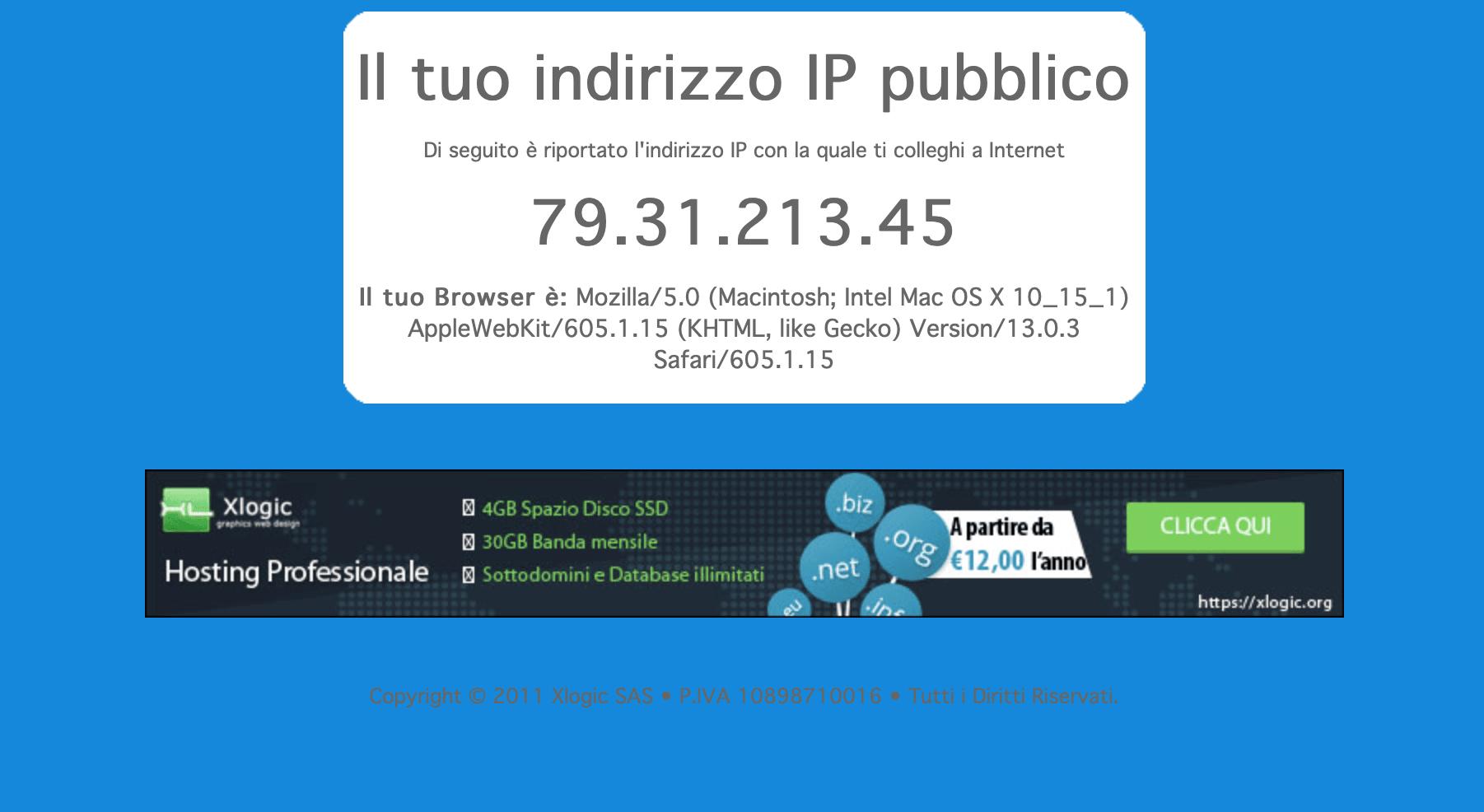 Il mio IP: che cos'è e come rilevarlo