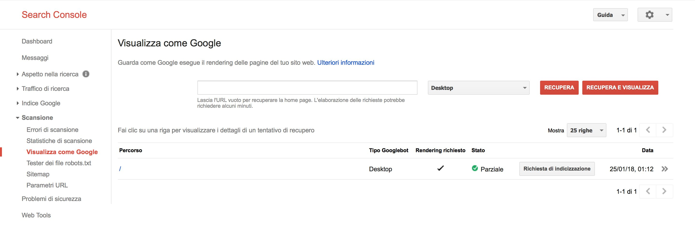Guida su come indicizzare il tuo nuovo sito su Google